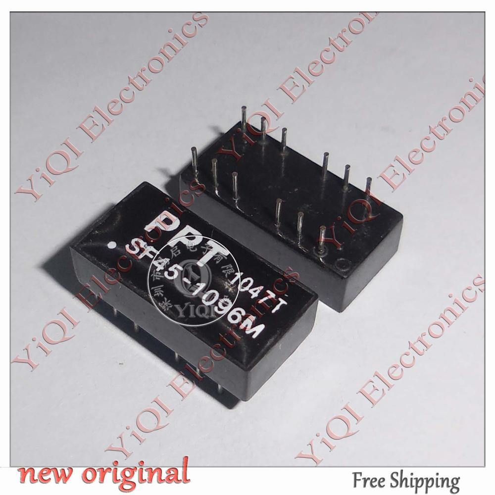 10 pieces = SF45-1096M DIP16 TRANSMIT / RECEIVER FILTER APPLY TO GENERIC IC - YiQi International Electronics Company store