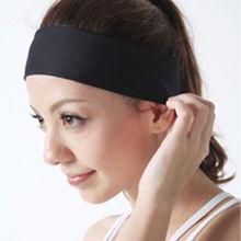 Women Lady Yoga Terylene Elastic Hairband Headband Sport Soft Fashion Hair Band