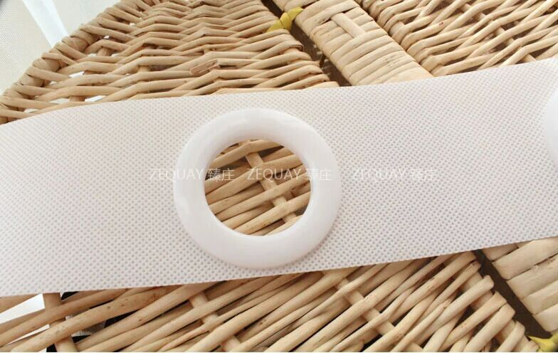Padded woven curtain tape the cloth belt for curtains eyelets rings