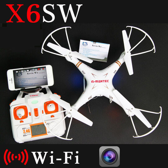 X6SW Remote Control Drone WIFI Fpv Camera RC Helicopter Drone Quadcopter Gopro Professional Drones (Syma X5sw Upgrated Version)(China (Mainland))