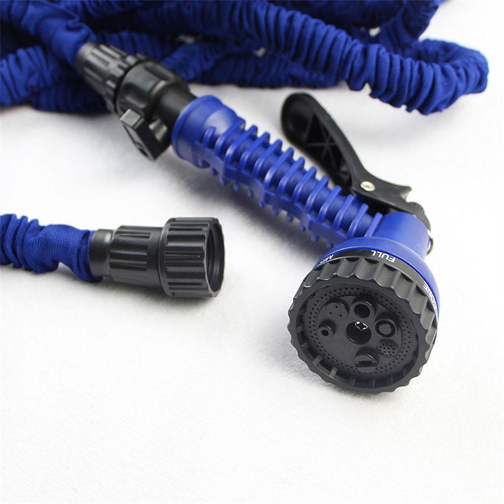 22m magic garden water hose with spray gun best flexible for Best flexible garden hose
