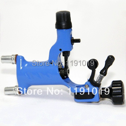 Delicate Second Generation Dragonfly Sky Blue Professional Rotary Motor Tattoo Machine For Liner And Shader(China (Mainland))
