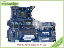 Mainboard VIQY0 NM-A031 rev 1.0 11S90003628 per lenovo ideapad y410p 14 ''madre del computer portatile geforce GT755M 2 gb grafica(China (Mainland))