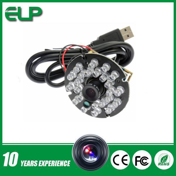 Best Selling Linux ,Android,Windows free driver 1MP 720p hd Night vision usb camera board with 24pcs IR LED(China (Mainland))