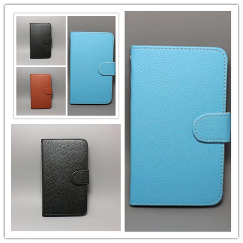7 colorsfor HTC Desire 610 Lichi Texture Leather Case Pouch Flip case Free Shipping()