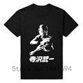 New T Shirts Mens Space Adventure Cobra Cartoon Manga Tshirt Vintage Funny T shirt Plus Size