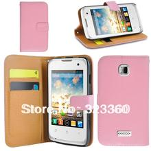 Wallet leather case cover for wiko cink+ plus with free shipping(China (Mainland))