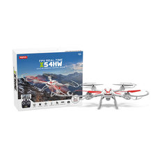 New Arrival SYMA X54HW Transmission Aerial Drone With 0.3MP Camera FPV Real Time RC Quadcopter 2.4G 4CH Mini Helicopter