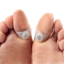 New Slimming Silicone Foot Massage Magnetic Toe Ring Body Weight Loss For Women Health Care Tool