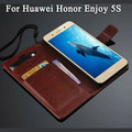 For Huawei Enjoy 5S Case Flip Cover Business Special For Huawei Honor Enjoy 5S Card Holder