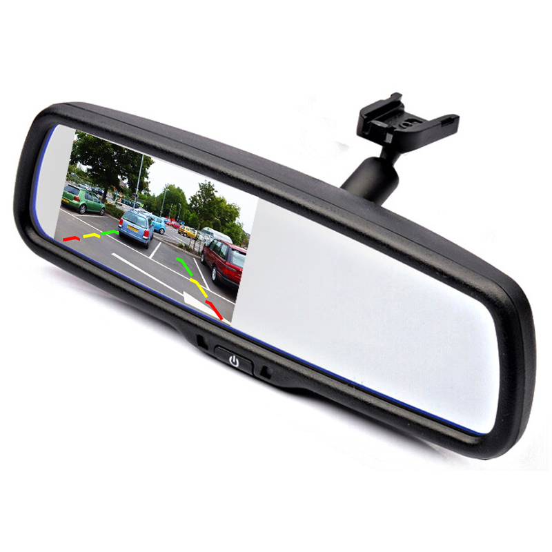 """4.3"""" TFT LCD Car Parking Rearview Mirror Monitor With Special Bracket for Mazada M3 /M6 /M2 2008(China (Mainland))"""