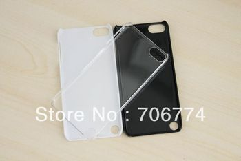 100pcs/lot Transparent Plastic Hard Crystal Case Cover for Ipod Touch 5