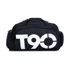Brand New Gym Bag T90 Brand Waterproof Mulitifunctional Outdoor Men luggage & travel Bag Men's Backpacks Sports Sport Bag