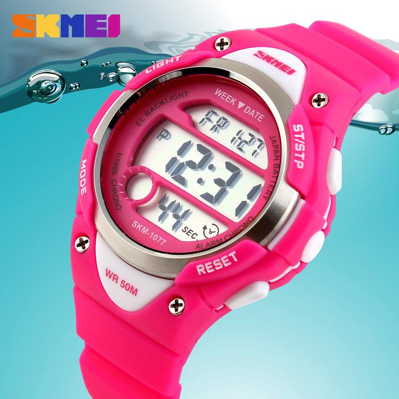 2015 Outdoor Sports Children Kids Watches Boy Girls LED Digital Alarm Stopwatch Waterproof Wristwatch Childrens Dress Watch<br><br>Aliexpress