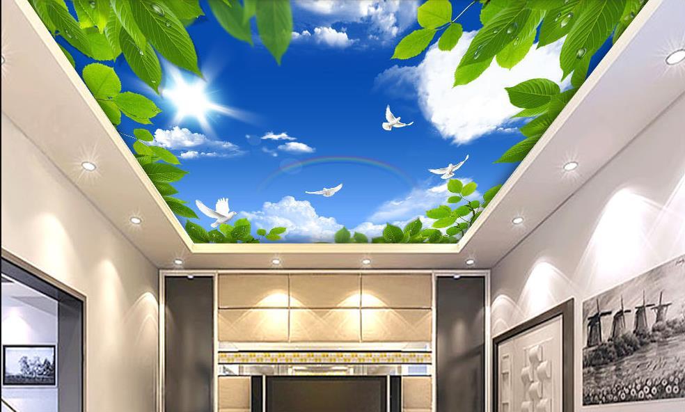 Woonkamer Blauw Groen: een woonkamer met pastel kleuren en koper ...