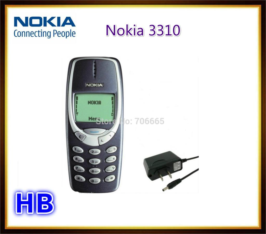 Original Nokia 3310 Unlocked GSM Mobile Phone Multi Languages Refurbished Free shipping(China (Mainland))