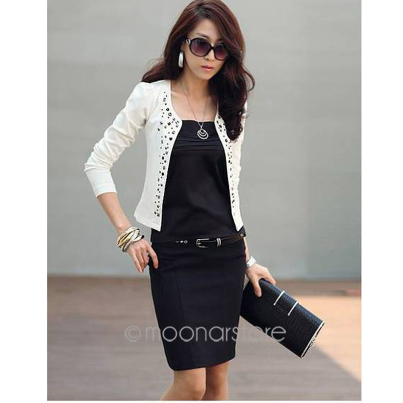 Wholesale S~xxl New Lady'S Long Sleeve Shrug Suits Small Jacket ...