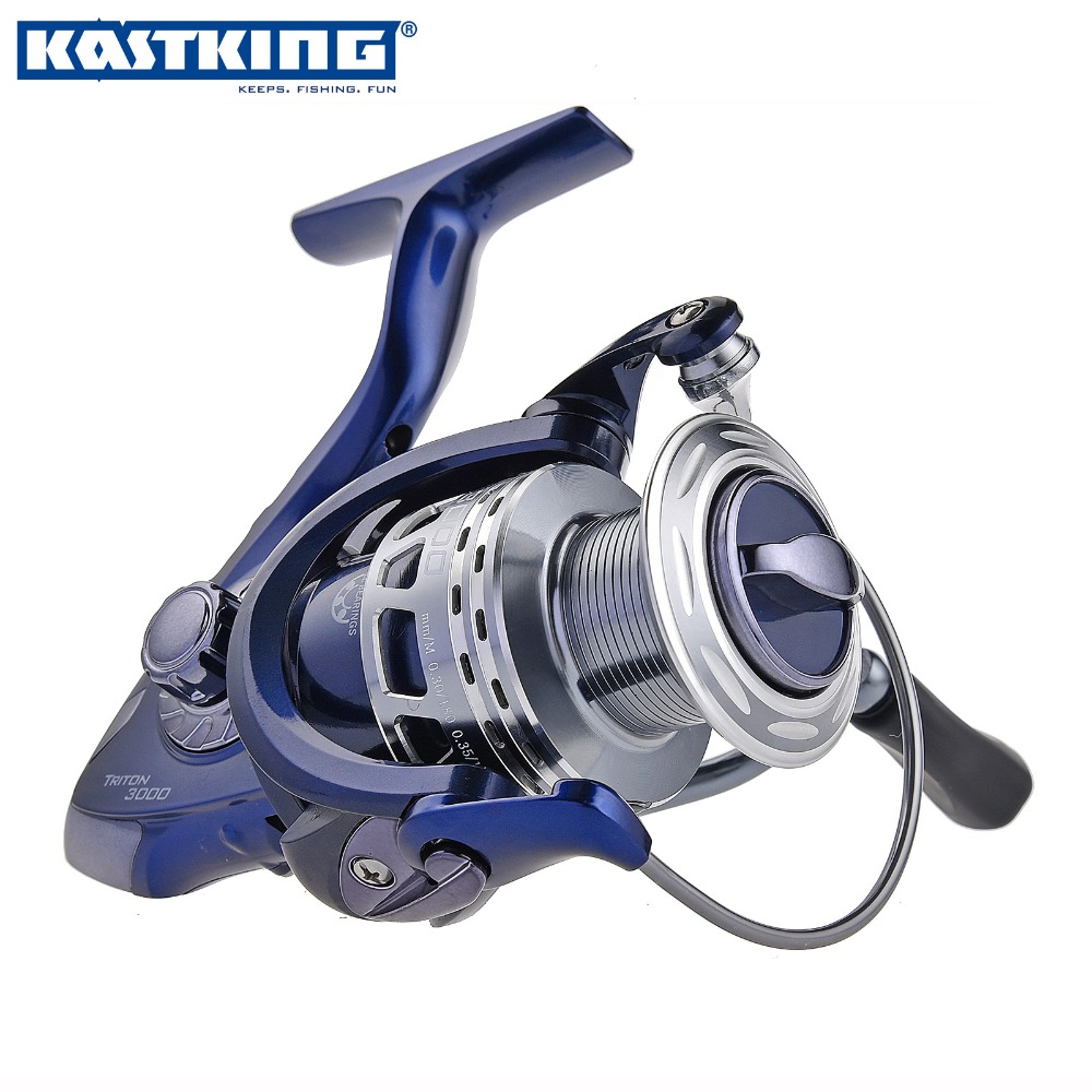 KastKing Triton 5000 Series11 BBs Open Face Spinning Fishing Reel Carbon Drag Fiber Aluminum Spool Gear Ratio 5.5:1(China (Mainland))