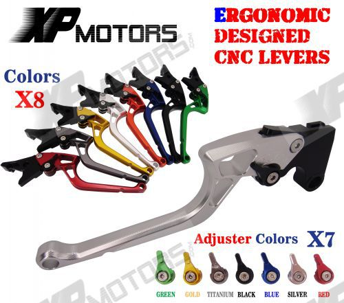 New CNC Labor Saving Adjustable Right angled 170mm Brake Clutch Levers For Honda CBR500R CB500F X