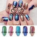 New Fashion Chameleon 5 Colors Nail Gel Polish UV Glitter Gel Nail For Manicure ZJY015