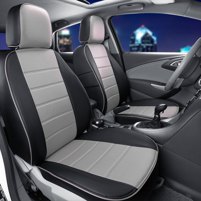 Pu leather cover seats for Chevrolet Captiva 2008/2009/2010 car seat cover full set black car seat covers for car seats cushions(China (Mainland))
