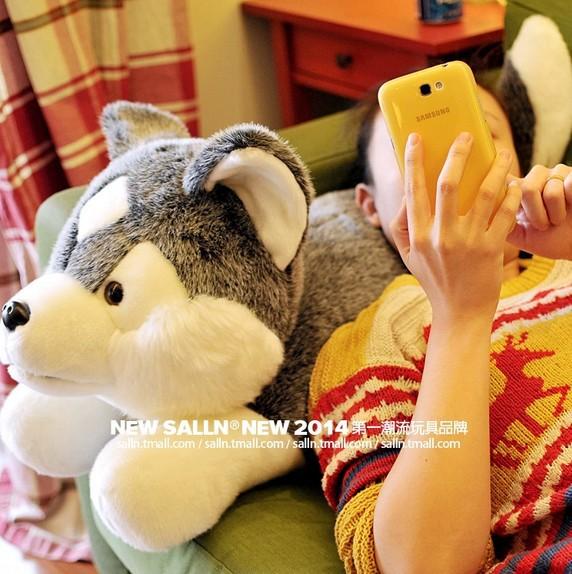 stuffed animal 60cm  simulation husky dog plush toy soft doll w62<br><br>Aliexpress