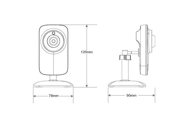 hot 720p wireless hd home securtiy ip camera pets  u0026 baby monitor security camera smartphone