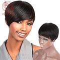Brazilian Human real hair bob wigs for Black women perruque cheveux humain Short straight African American