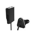 image for Allocacoc Smart Home PowerCube Socket EU Plug 4 Outlets 2 USB Ports Ad