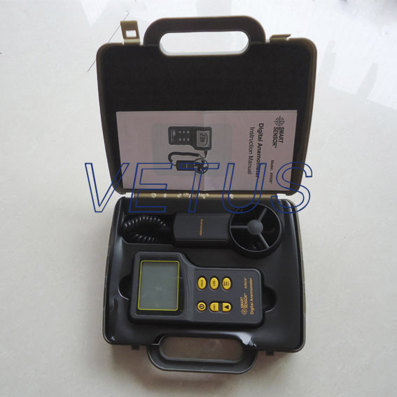 Фотография AR826Digital Anemometer wind speed meter with range 0~45m/s hot sale