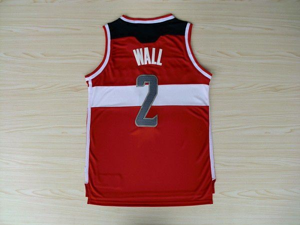 #2 John Wall Jersey Rev30 Basketball Jersey, Embroidery Logo, White ,Red ,Free Shipping(China (Mainland))