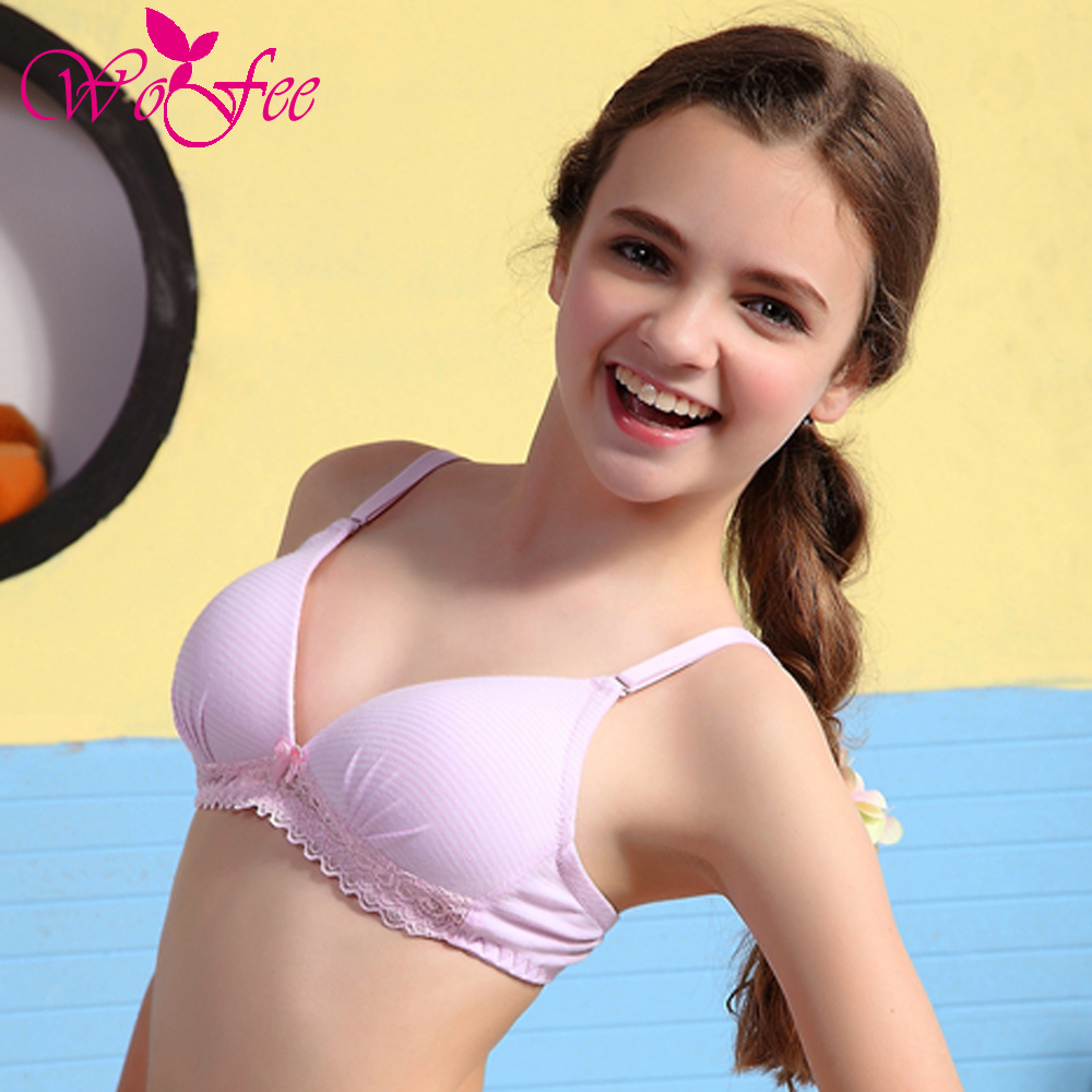 Bra Holder Picture More Detailed Picture About Wofee Young Girls Cotton Lace Full Cup