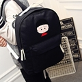 Janpan Harajuku Printing School Back Youth Backpack Women Bagpack For Teenage Girls Canvas 2016 Mochila Rucksack