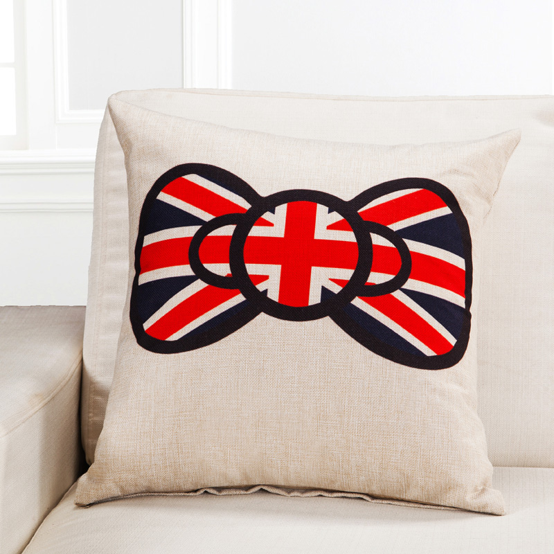 45 45 cm Home Textile Classic The UK Flag Style Throw Cushion Cover Pillow Case for