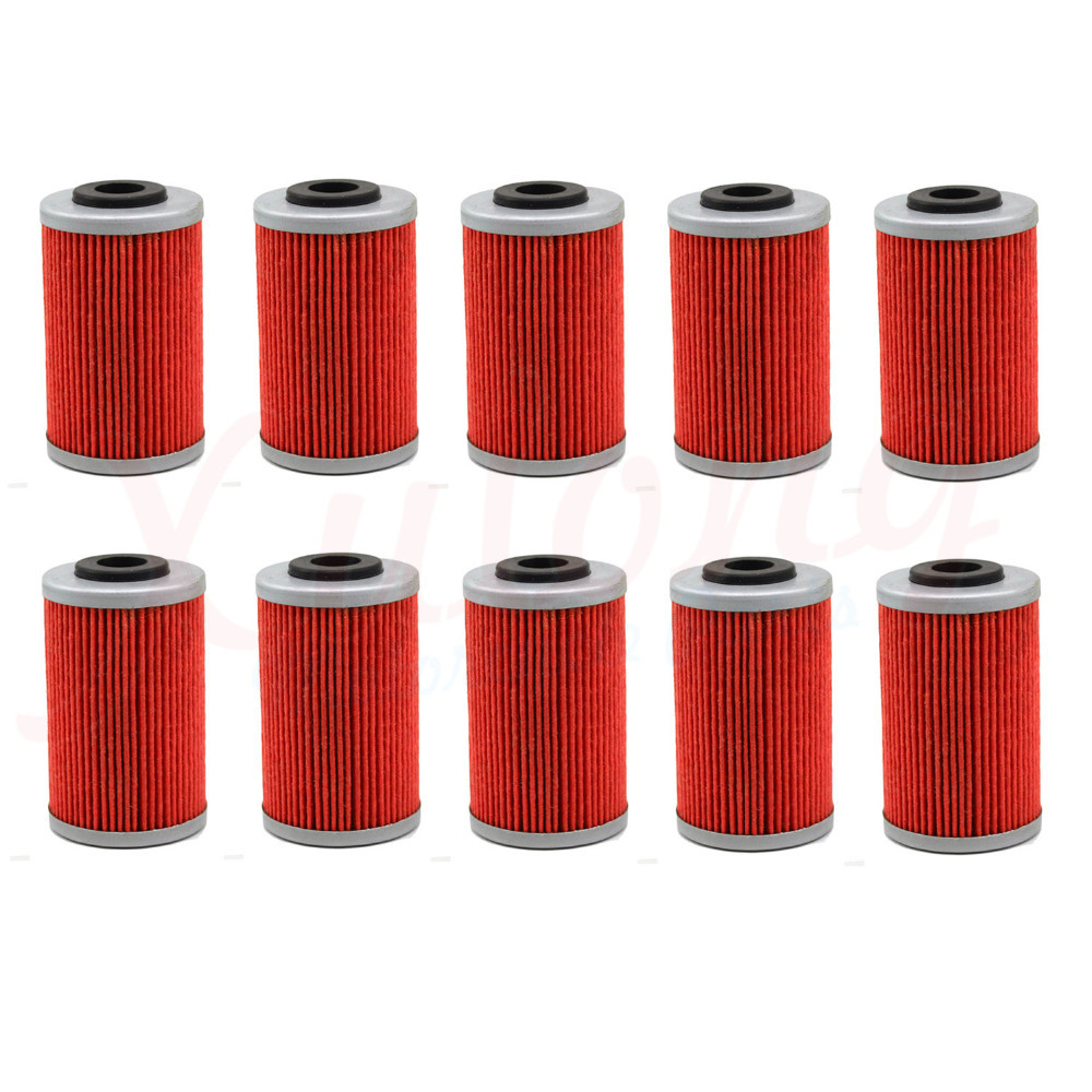 10pcs Free Shipping Motorcycle Accessories Oil Grid Filters For KTM 525 XC 525XC ATV 2010 Oil Filter(China (Mainland))