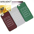 Hot Sale Fashion YOU LOOK SO COOL Slim Hard Plastic Back Cover Skin for Apple iPhone