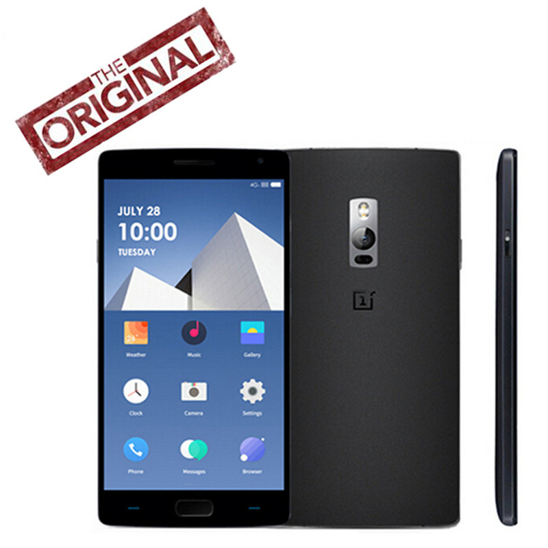 """New Original Oneplus 2 One Plus Two 4G LTE Phone Android 5.1 Snapdragon810 5.5"""" FHD 4G RAM 64G ROM 13Mp Fingerprint One Plus 2(China (Mainland))"""