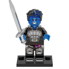 Buy 10pcs super heroes marvel X-Men movie Nightcrawler building blocks action figure bricks toys hobby interesting toys kids for $7.99 in AliExpress store