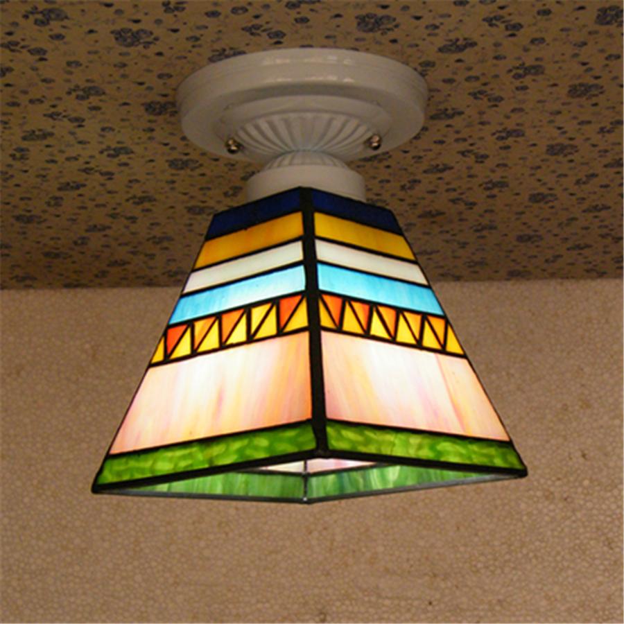 Gebrandschilderde Plafondverlichting-Koop Goedkope ...