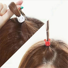 Korean headdress hair accessories mini kitten rabbit hair caught bangs clip clip Korea small side gripper