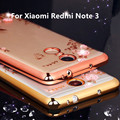 Hot Sale For Xiaomi Redmi Note 3 Case Luxury Mirror Metal Aluminum+Acrylic Hard Back Cover For Redmi Note3 Fundas Accessory Capa