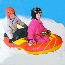 Good deal Brand Name Flexible Flyer Snow Twist Inflatble Snow Tube Sports Tube Winter Ski Circle Sledge Twist for 2 person(China (Mainland))