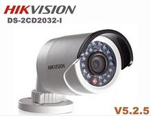 Hikvision ds - 2cd2032 - je POE 3MP caméra IP CCTV vidéo onvif HD 1080 P ipcam de sécurité IP66 extérieure cam ds-2cd2032f-i ds 2cd2032 i(China (Mainland))