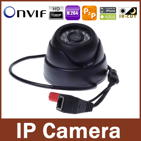 2.0 megapixel Indoor IP camera 1080P Full HD Onvif P2P Plug And Play IR-Cut Filter Camera 2MP Securiy Network IP Camera(China (Mainland))