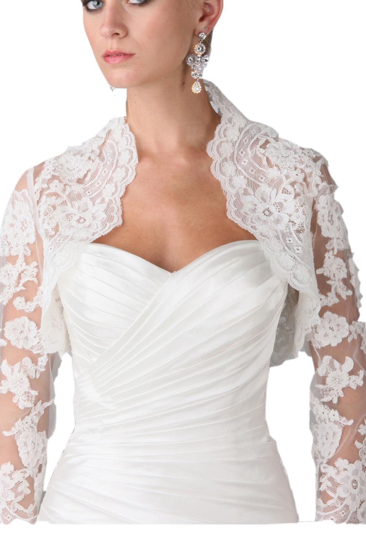 Vestidos de novia con bolero chaquetas imagenes for Chaquetas de novia