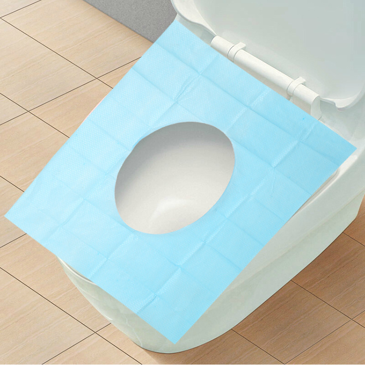 2015 Real Limited Potty Bathroom Toilet Seat Cover Disposable Toilet Mat Travel 100% Waterproof Monolithic Bacteria Dress F1395(China (Mainland))