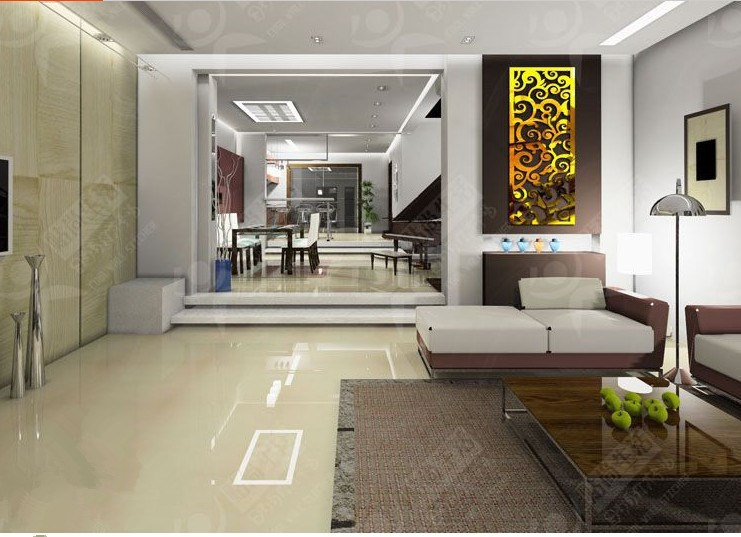 2014 Ikea Style 2mm Thick 3D Wall Stickers Entranceway Larger Mirror Decoration W1  -  Yiwu Home Decor Co., Ltd store