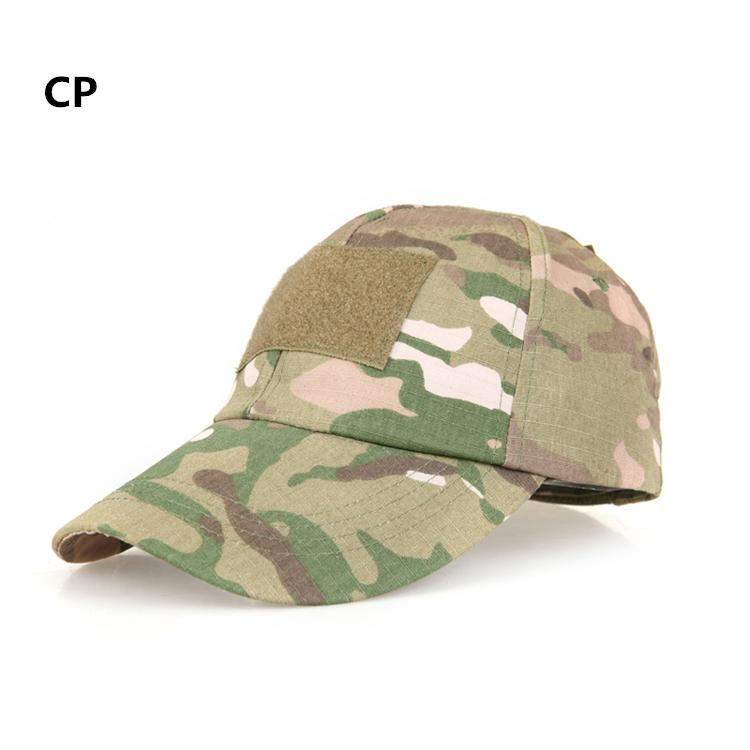 2015 Free shipping! Hiking male hat Summer camping man's Camouflage Tactical hat army Fishing bionic Baseball cadet Military cap(China (Mainland))