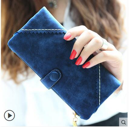2016 Brand Women Wallet Women Purses Clutch Carteira Feminina Long Women Zipper Hasp Wallet Fashion Casual Handbag<br><br>Aliexpress