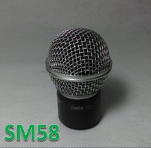Free shipping PGX24 SLX24 wireless microphone 58 handheld MIC head capsule grill SM Capsula de la cabeza(China (Mainland))